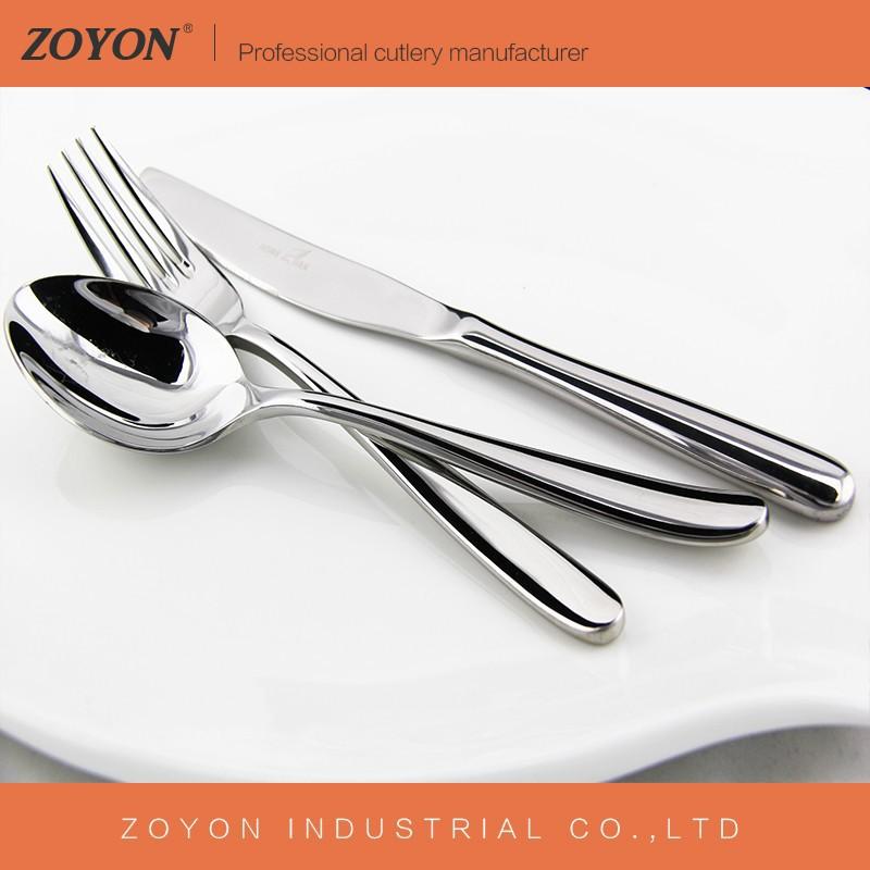 Gros stock pas cher en acier inoxydable couverts couteau for Couvert de table design pas cher