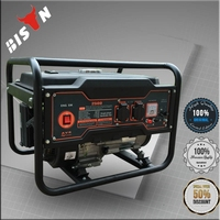 BISON China Taizhou 2000w Price of Copper Coil Korea 2kw Daishin Gasoline Generator