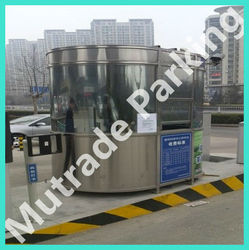 car parking lot use toll booth garage equipment