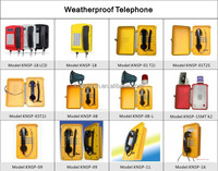 apartment intercom system wireless outdoor telephone out door use sos phone Loud speaking weatherproof phone KNSP-08