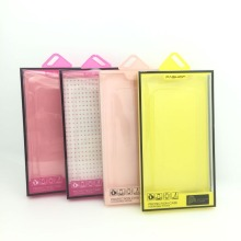 Cell phone case plastic packaging retail package boxes for mobile phone cover packaging