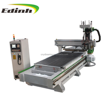 Automatic feeding Automatic vertical hole and acutomatic cutting machine 1325
