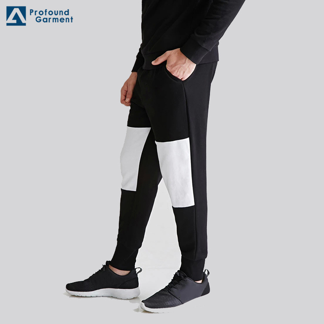 New Design Mens Baggy Jogger Sweat Pants with waist