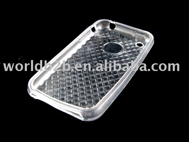 Clear Cube TPU case for iphone 3G/3GS