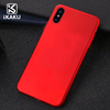 New 2017 luxury USA hot sale rubber coated back cover hard pc case for iphone x accesories
