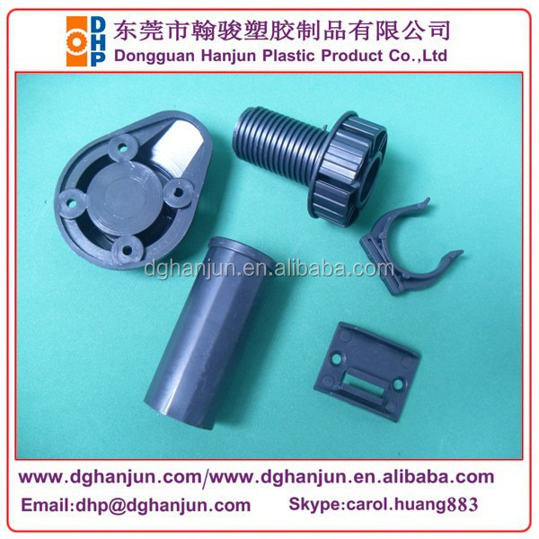 Plastic furniture legs for kitchen cabinet with spring clips plinth support