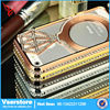 Heap designer cell phone case wholesale metal phone case for iPhone 5 diamond cases