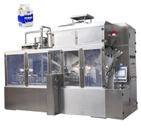 Fresh soya milk filling machine for gable top carton