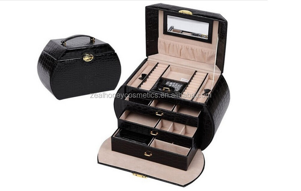 wholesale new professional most fashionable Hand bag cosmetic case with large capacity for multiple color for skincare products