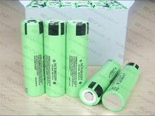 10A rechargeable lithium ion 3.7V 2900mAh high drain battery NCR18650PF