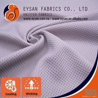 EYSAN Breathable Bird Eye Mesh Nylon Spandex Cool Touch Fabric