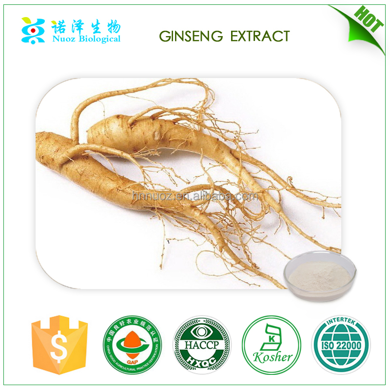 Low heavy metals Ginsenosides asian ginseng root extract