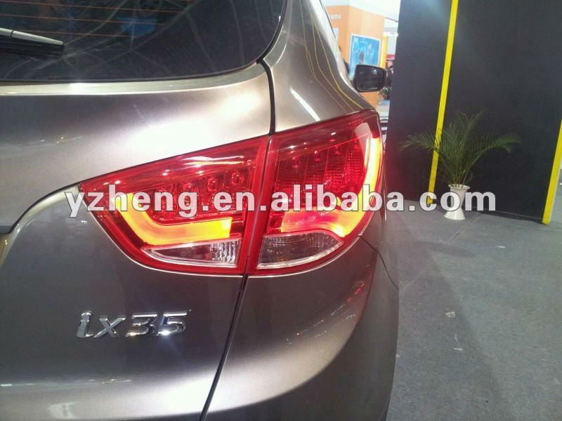 auto car styling Led tail lamps for Hyundai ix35 taillamp