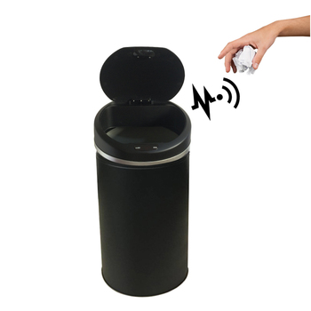 13 Gallon Round Sensor Trash Can