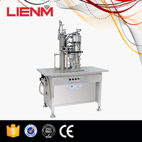Filling & Capping 3 in 1 Aerosol Body Spray Filling Machine