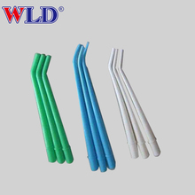 Disposable medical surgical dental suction tip made from polyethylene