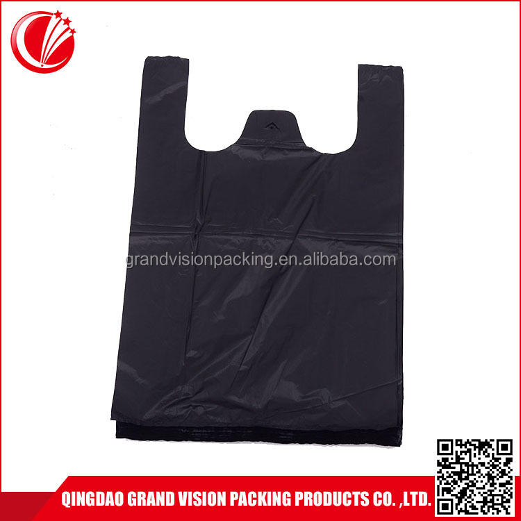 Exceptional Quality free sample black garbage trash compactor bags