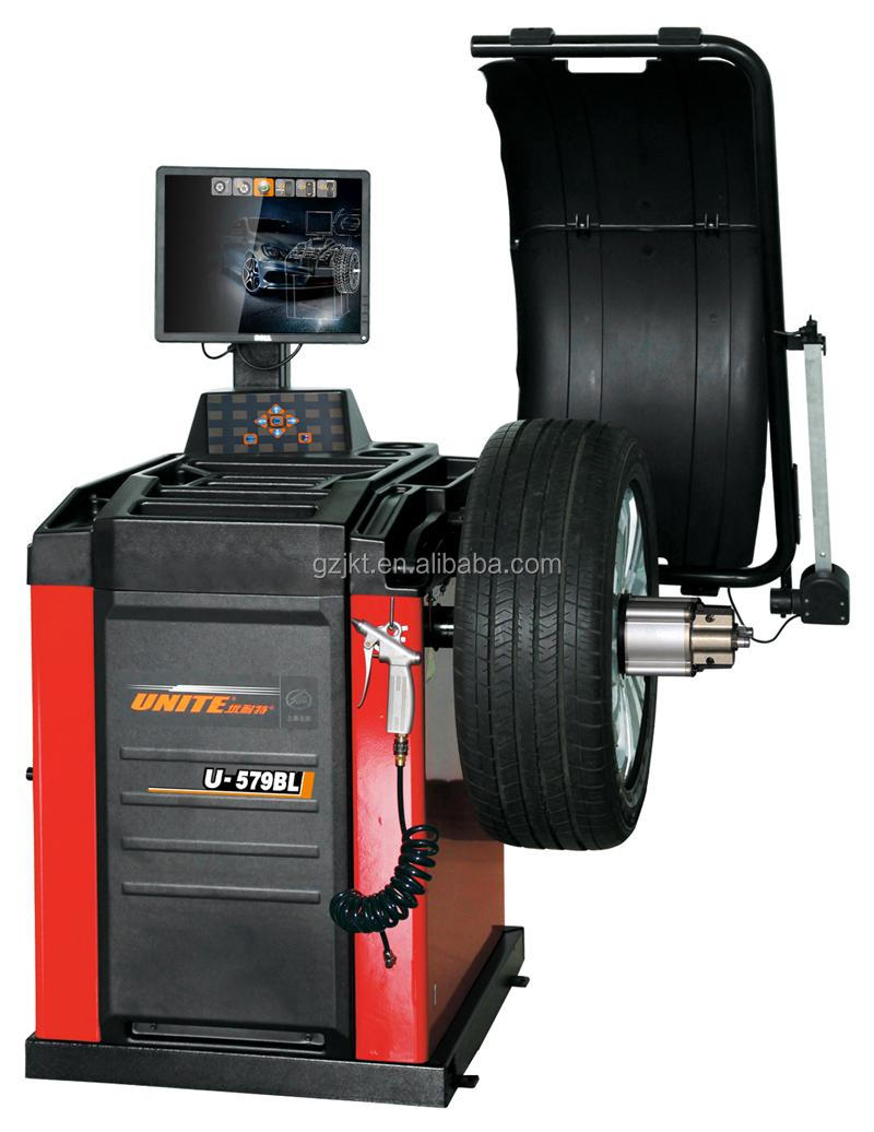 U-579BL Wheel balancer machine with automatic measuring and high precision