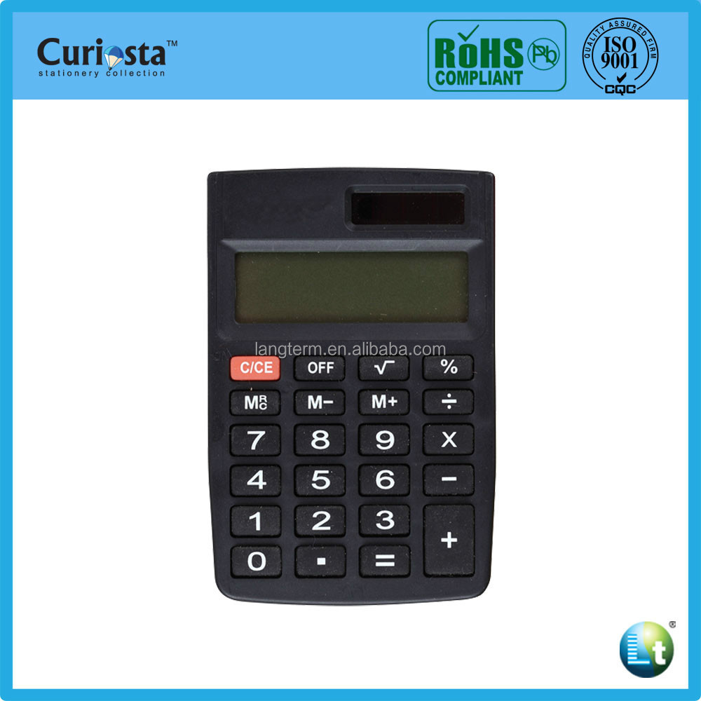 8-12digital pocket calculator
