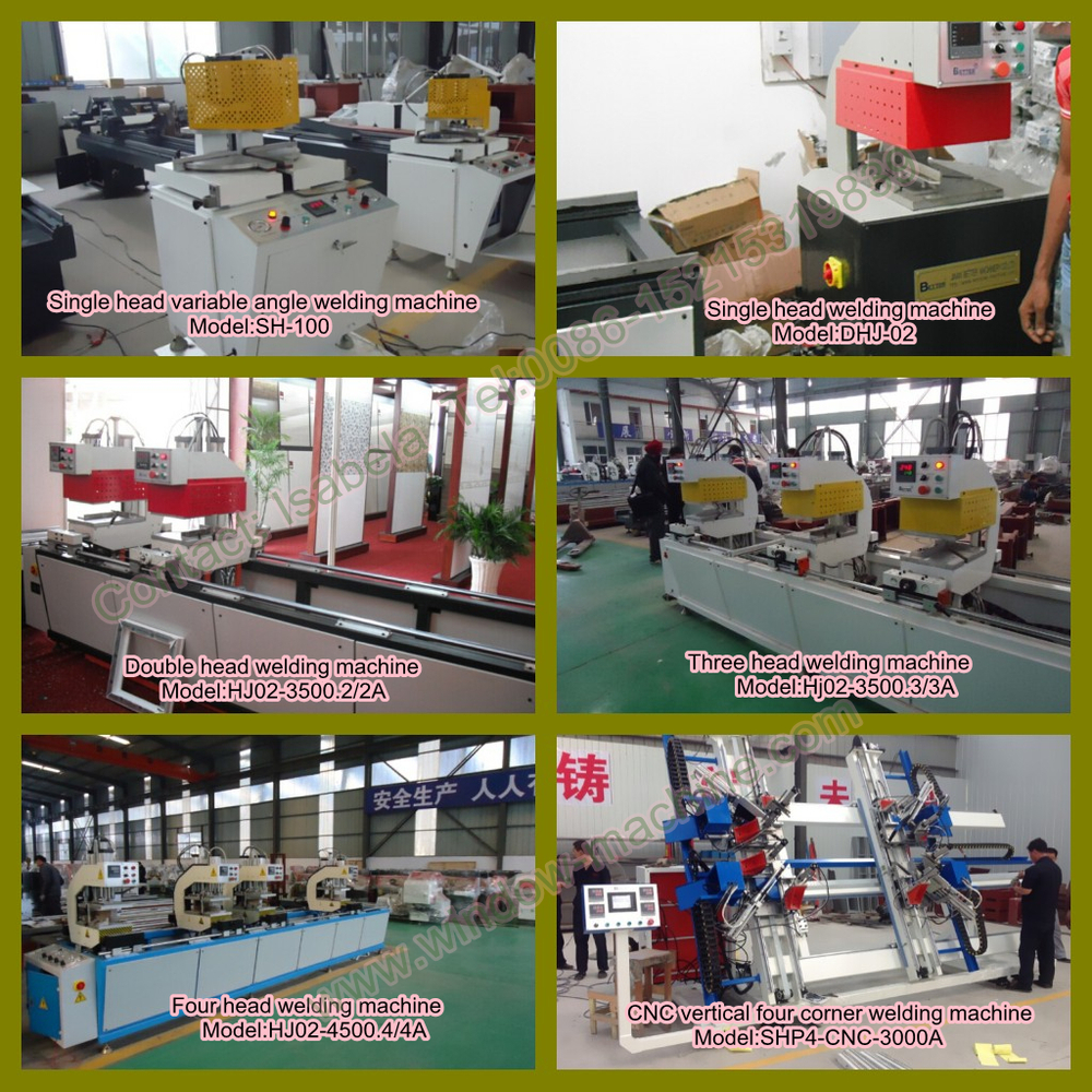 2017 hot sale CE PVC window door welding machine UPVC profile seamless welding machine Plastic window machine