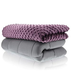 Factory Direct Sale Light Queen 25lb Weighted Blanket