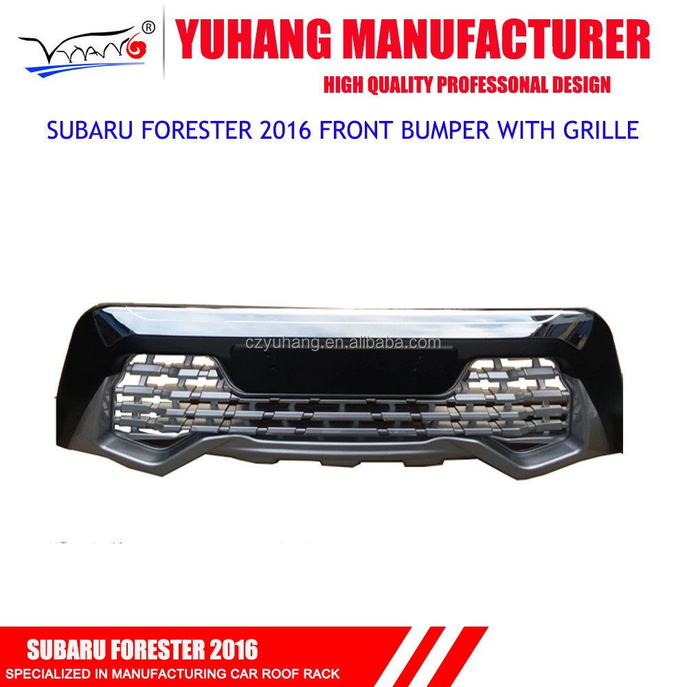 2016 new forester front bumper with grille