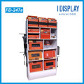 Multi-function Retail Store Cardboard Display Rack for clothes