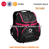 high quality 600d polyester soft sport backpack bags