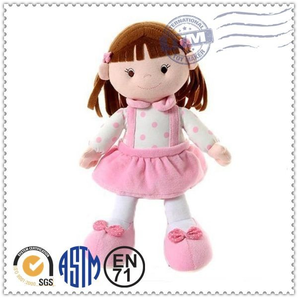 OEM New type fashion design custom plush dolls