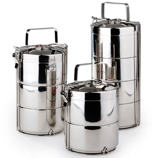15cm Multipurpose Stainless Steel Flask Korean Thermos Metal Lunch Box