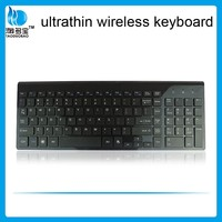 wireless mini scissor key keyboard 2.4G thin keyboard with numeric key