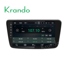 "Krando Android 7.1 8"" touch screen gps pc for SUZUKI BALENO 2015+ car audio navigation system wifi dab+ Bluetooth KD-SB815"