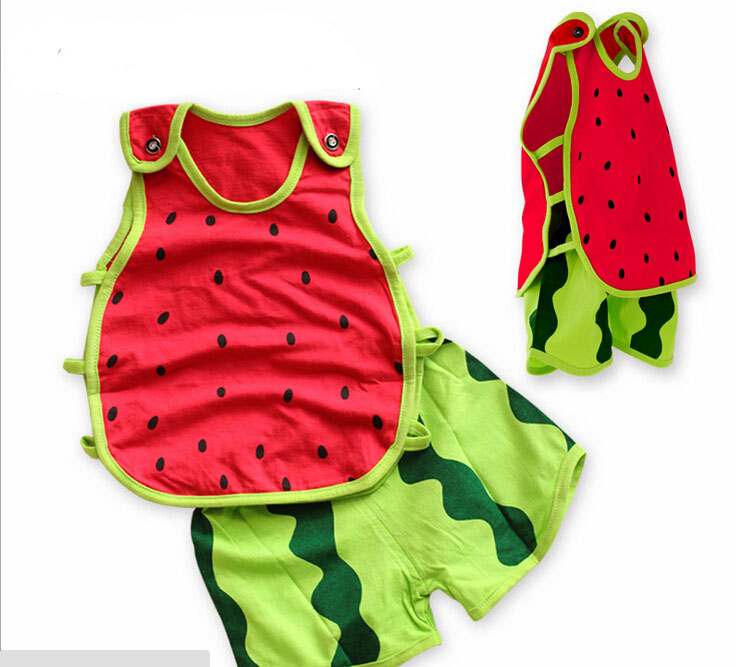 Cute Baby Boy Clothes 2015 Summer Style Girl Infant Clothing Personal Thin Baby Clothing Set Sleeveless Cute Baby Boy Clothes