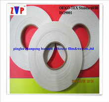 elastic and nontoxic hot melt web with paper of double side fusible interlining