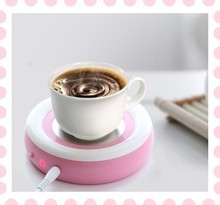 Portable USB Electric Coffee Milk Tea USB Cup Heater Battery Powered Cup Warmer