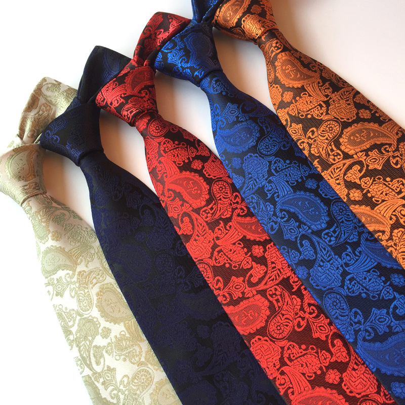 Wholesale stock polyester paisley neck <strong>ties</strong>