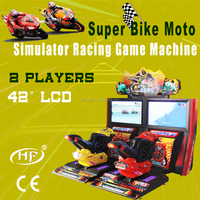simulator bike racing game machine/Speed MOTO HF-AM562