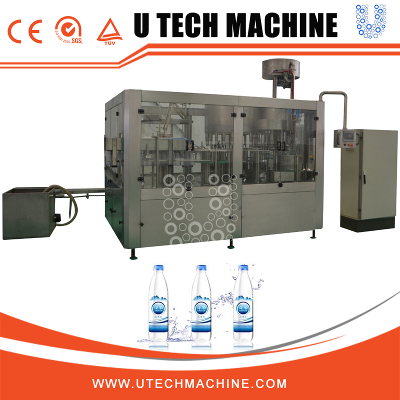 bottled water filling capping and labeling machine