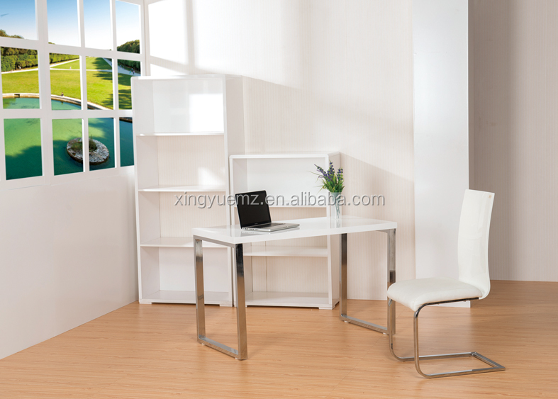 Modern White puter Desk Modern Home fice Table High