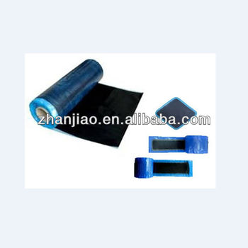 diamond/round shape rubber conveyor belt repair patch