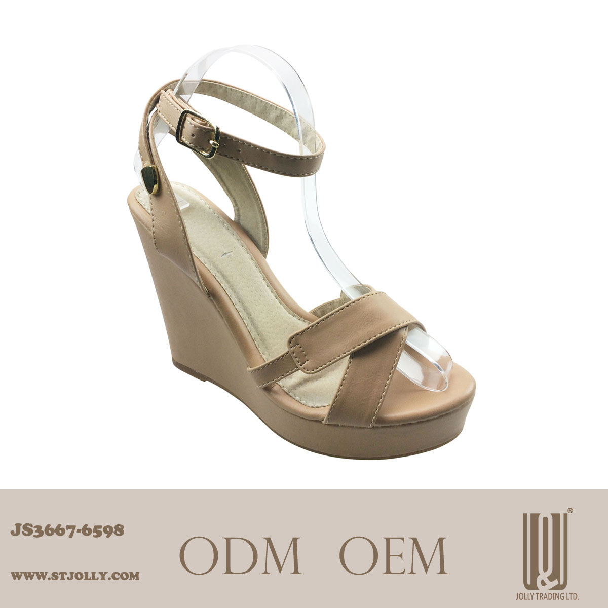 Ladies Fashion Snake skin wedges in shoes/footwear sexy design