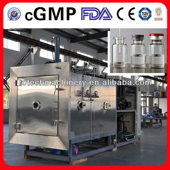 The pharmaceutical vaccine vacuum pharmaceutical freeze-drying machine (US FDA&EU cGMP Approved)