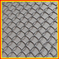Chain Link Wire Mesh used Galvanized Chain Link Fence/PVC Coated Chain Link Fence Price/school yard wire mesh fence