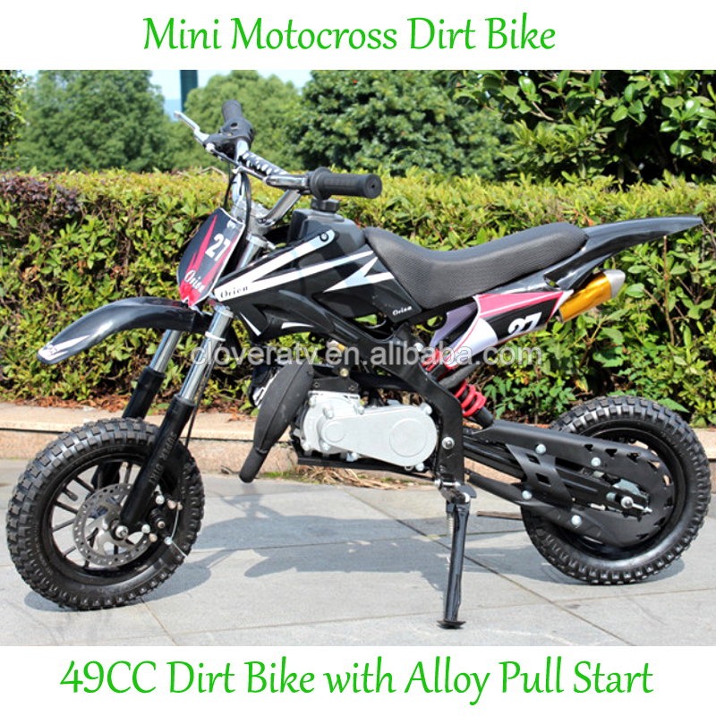Two Wheel 2 Stroke Dirt Bike 49CC Motor Bike with Offroad Wheel