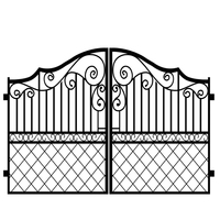 factory price cheap latest designs main wrought iron gates