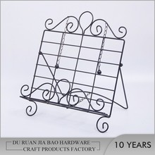 Custom wrought iron menu holders standing sign holder stand