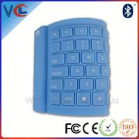 pc flexible wireless slim bluetooth keyboard