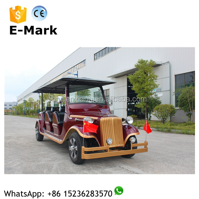 Classic Chinese 4wd 8 passengers/seats electrical recreational electric car