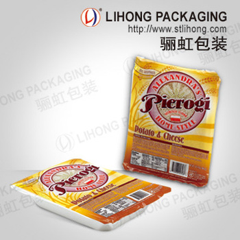 Custom Printing Fast Food Packaging Plastic Cup Sealing Film For Lunch Box