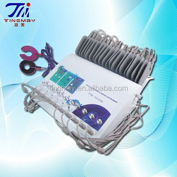 2014 Newest factory supply CE approved electronic muscle stimulator machine/electro stimulator TM-502B